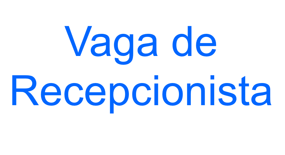 HOSTESS/ RECEPCIONISTA NOTURNO