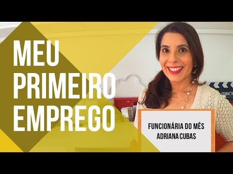 Como eu consegui o meu PRIMEIRO EMPREGO 🍟🍔 | #ADRIANAREVELA