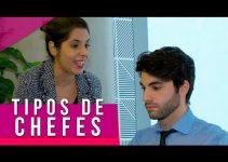 TIPOS DE CHEFES NO TRABALHO 👩💼👨💼