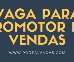 PROMOTOR (A) DE VENDAS